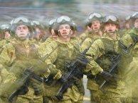 Празднование Дня Победы в городах России