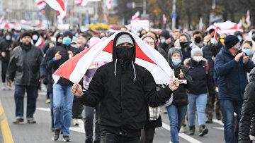 Акция протеста в Минске