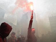 Акция у здания Конституционного суда в Киеве