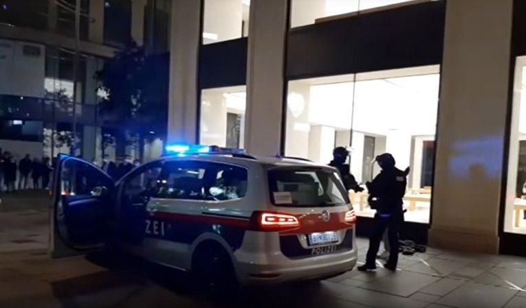 Теракты в Вене: трое убитых, около 15 раненых