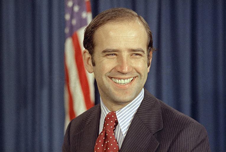 Сенатор от штата Делавэр Джо Байден, 1972