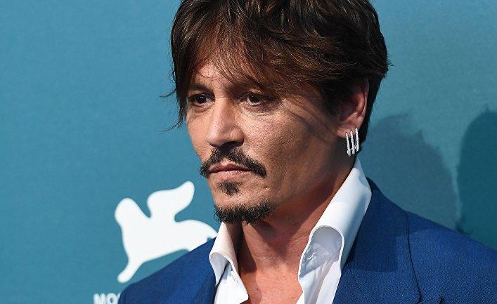 Джонни Депп на Венецианском кинофестивале
