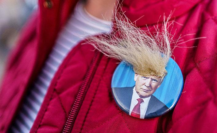 Сторонник президента США Дональда Трампа