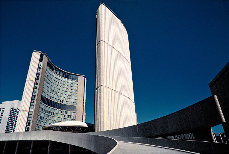 Сити-холл в Торонто, Канада