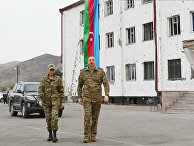 Президент Азербайджана И. Алиев посетил Физулинский и Джебраильский районы
