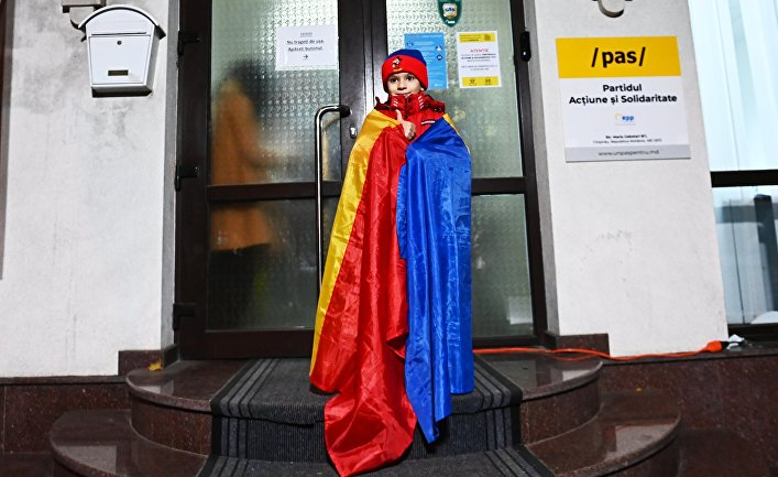 Второй тур выборов президента Молдавии