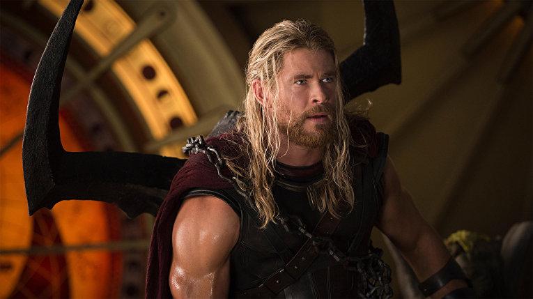 Кадр из фильма «Тор: Рагнарёк»