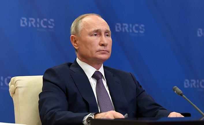 Президент РФ В. Путин принял участие в работе XII саммита БРИКС