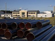 Трубы для «Северного потока— 2» вЛубмине, Германия