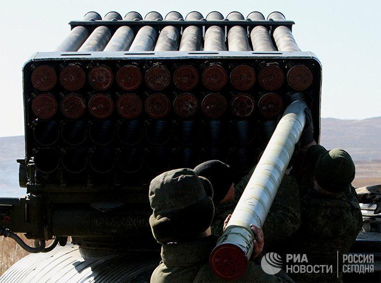 """Реактивная артиллерийская установка """"Торнадо"""""""