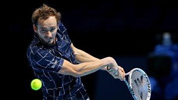 Д. Медведев выиграл итоговый теннисный турнир в Лондоне
