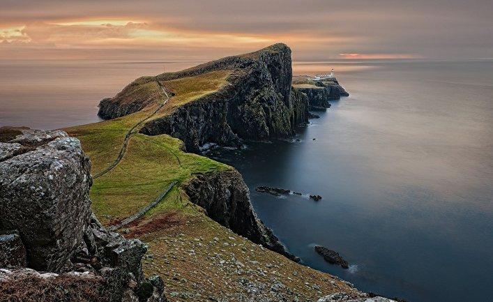 Скалы в Шотландии