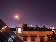 Сирийские ПВО отражают ракетный удар со стороны Израиля в Дамаске