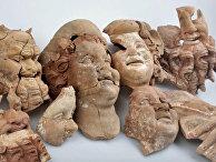 В Орду найдены бюсты и маски 2100-летней давности