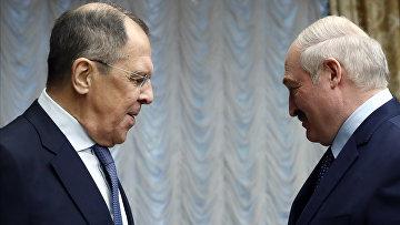 Визит главы МИД РФ С. Лаврова в Минск