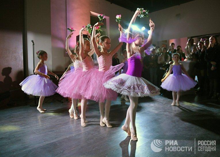 """Открытие школы балета """"Грандбалет"""""""