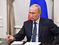 Рабочая поездка президента РФ В. Путина в Нижегородскую область