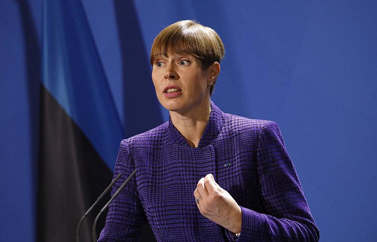 Президент Эстонии Керсти Кальюлайд