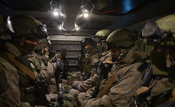 Учения подразделения разведки Западного военного округа