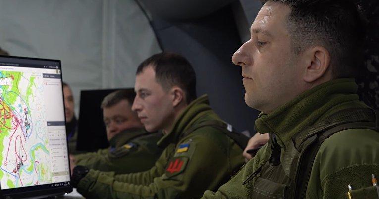 Военные учения армии Украины