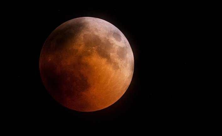 Полное лунное затмение