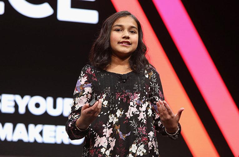 15-летняя изобретательница Гитанджали Рао из США
