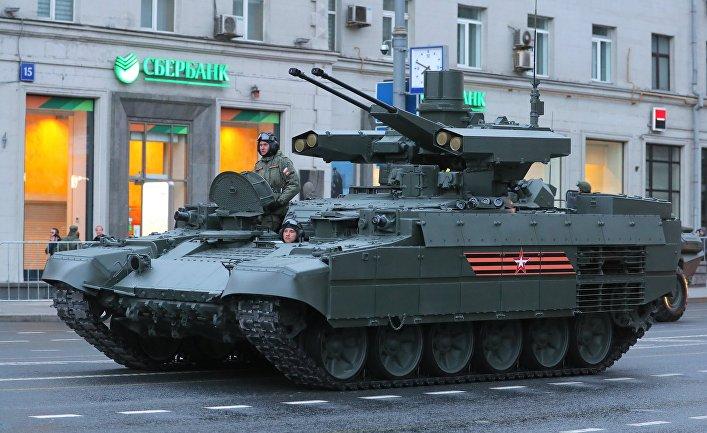 """Боевые машины поддержки танков """"Терминатор"""""""