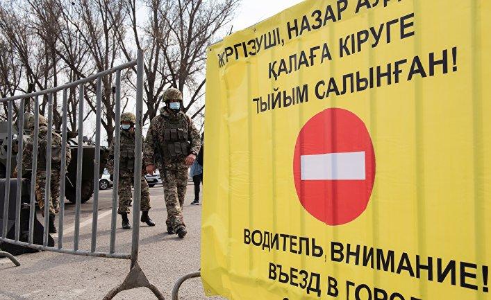 Ситуация в Казахстане в связи с коронавирусом