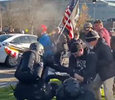 Столкновения в Олимпии, штат Вашингтон