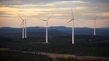 Ветряки в Бьёркхёйдене, Швеция