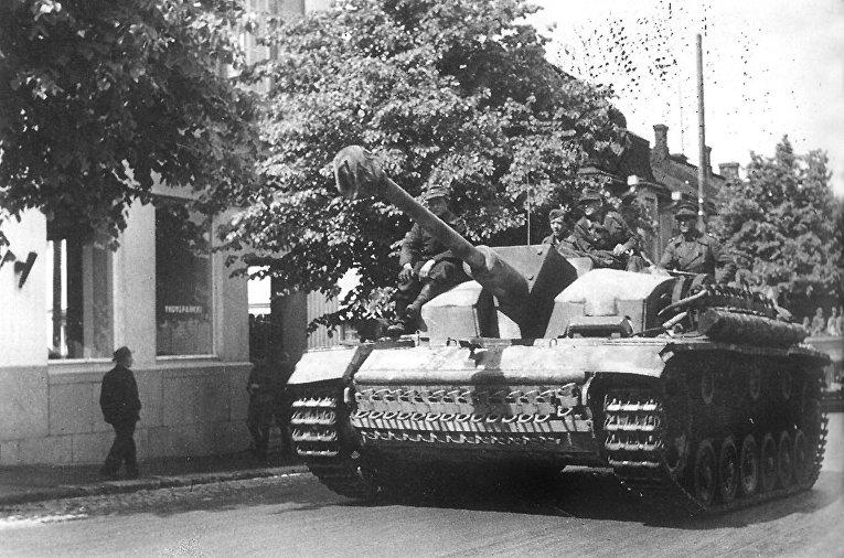Немецкая самоходно-артиллерийская установка StuG III