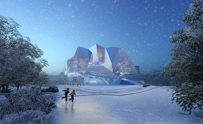 Проект оперного театра в Кемерово от Coop Himmelb(l)au