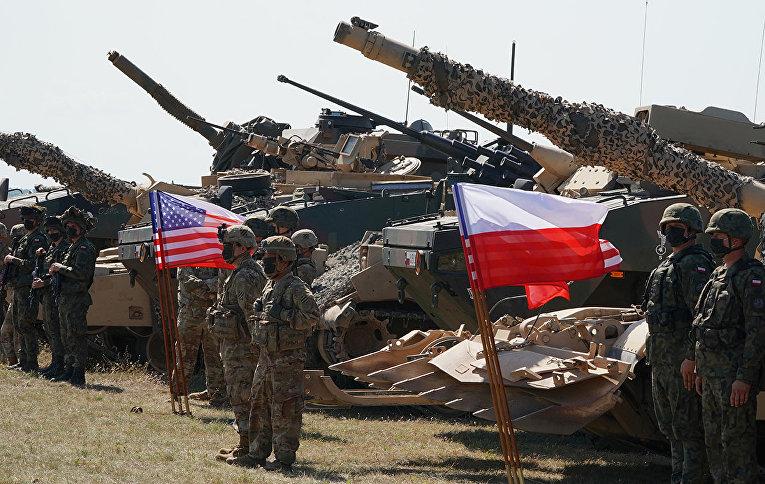 Польские и американские войска принимают участие в совместных военных учениях Defender-Europe 20 в Польше