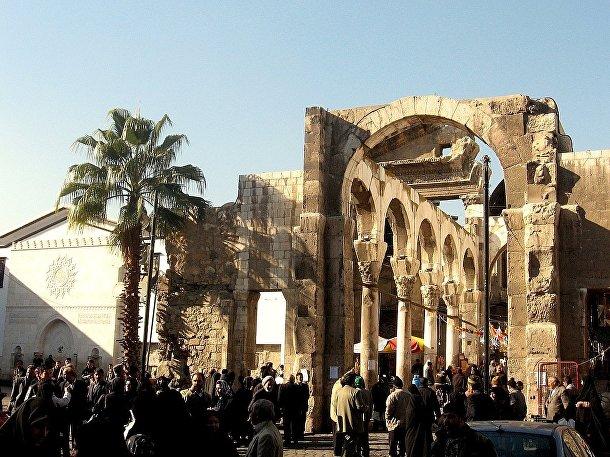 Храм Юпитера в Дамаске