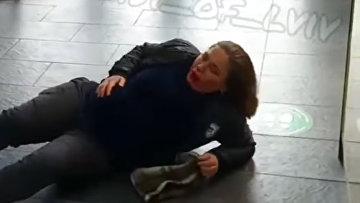 В торговой центра во Львове произошла драка двух женщин