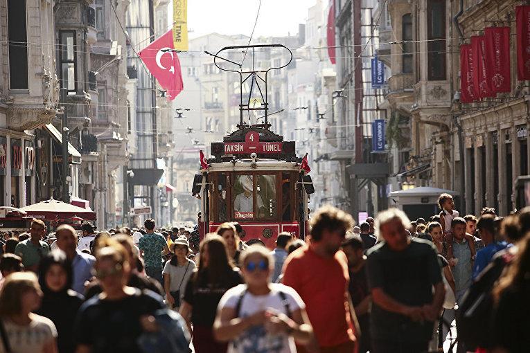 Улица Истикляль, Стамбул