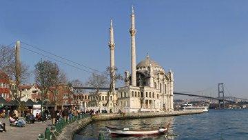 Район Ортакёй в Стамбуле