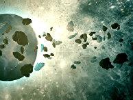 Три астероида пролетят мимо Земли на Рождество