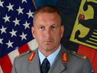 Бригадный генерал Джаред Зембритцки, начальник штаба в штаб-квартире американских войск в Висбадене, Германия