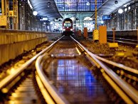 Вокзал во Франкфурте, Германия