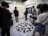 «Выставка искусства, которое можно украсть» в Токио, Япония