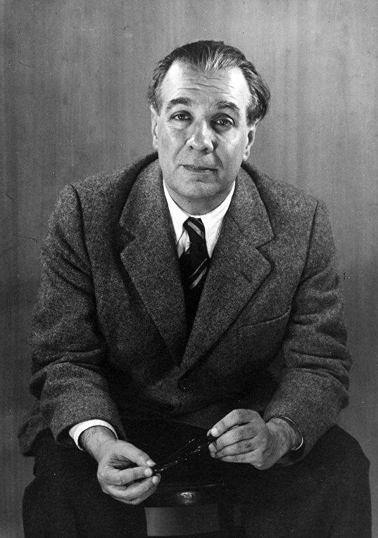 Аргентинский писатель Хорхе Луис Борхес
