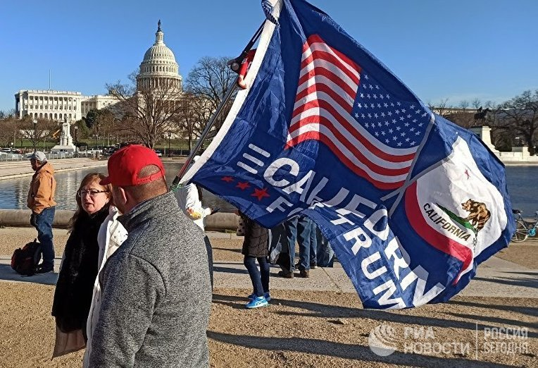 Последствия беспорядков в здании Конгресса США
