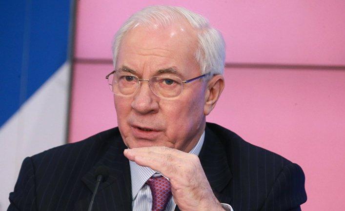 Экс премьер-министр Украины Николай Азаров