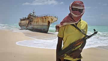 Вооруженный сомалиец