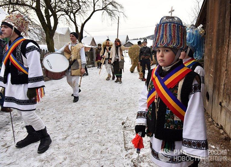Празднование Маланки на Украине