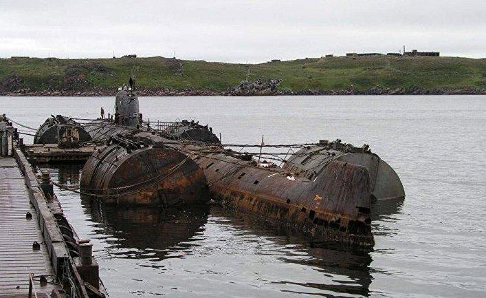Атомная подводная лодка К-159