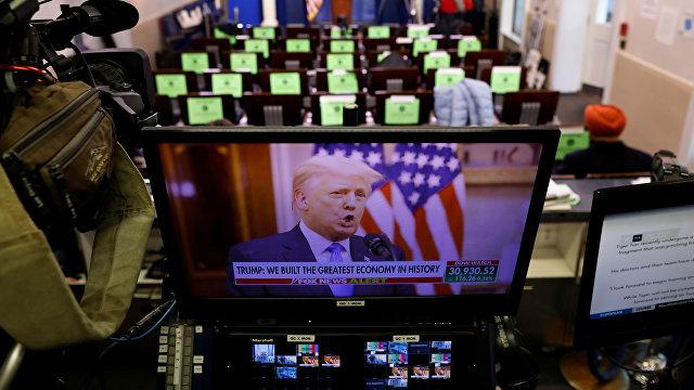 The White House (США): прощальная речь 45-го президента Соединенных Штатов Америки Дональда Трампа
