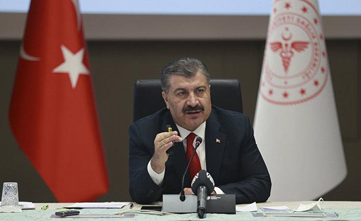 Министр здравоохранения Турции Фахреттин Коджа