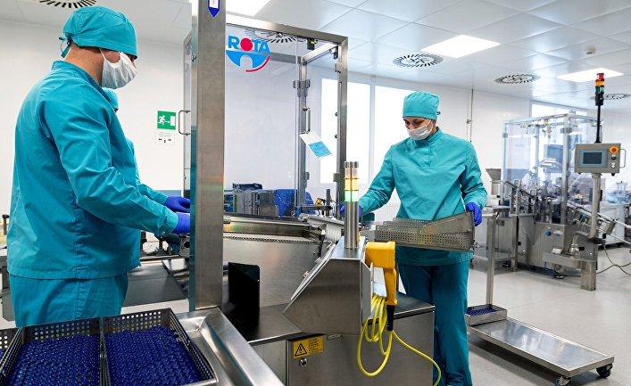 В Казахстане началось производство вакцины Sputnik V